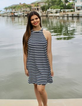Papermoon Ella Stripe Dress