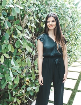 Current Air Modern Chic Black Jumpsuit