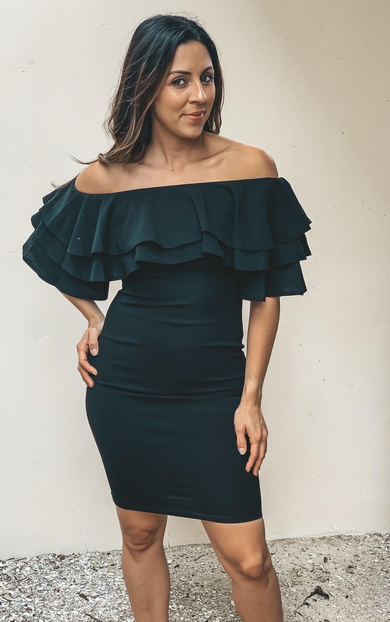 Black Lola Dress OTS