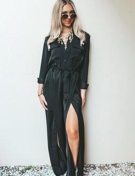 Elan Black Cherry Jumpsuit