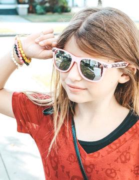 Ocean and Land Skull Studded Sunglasses