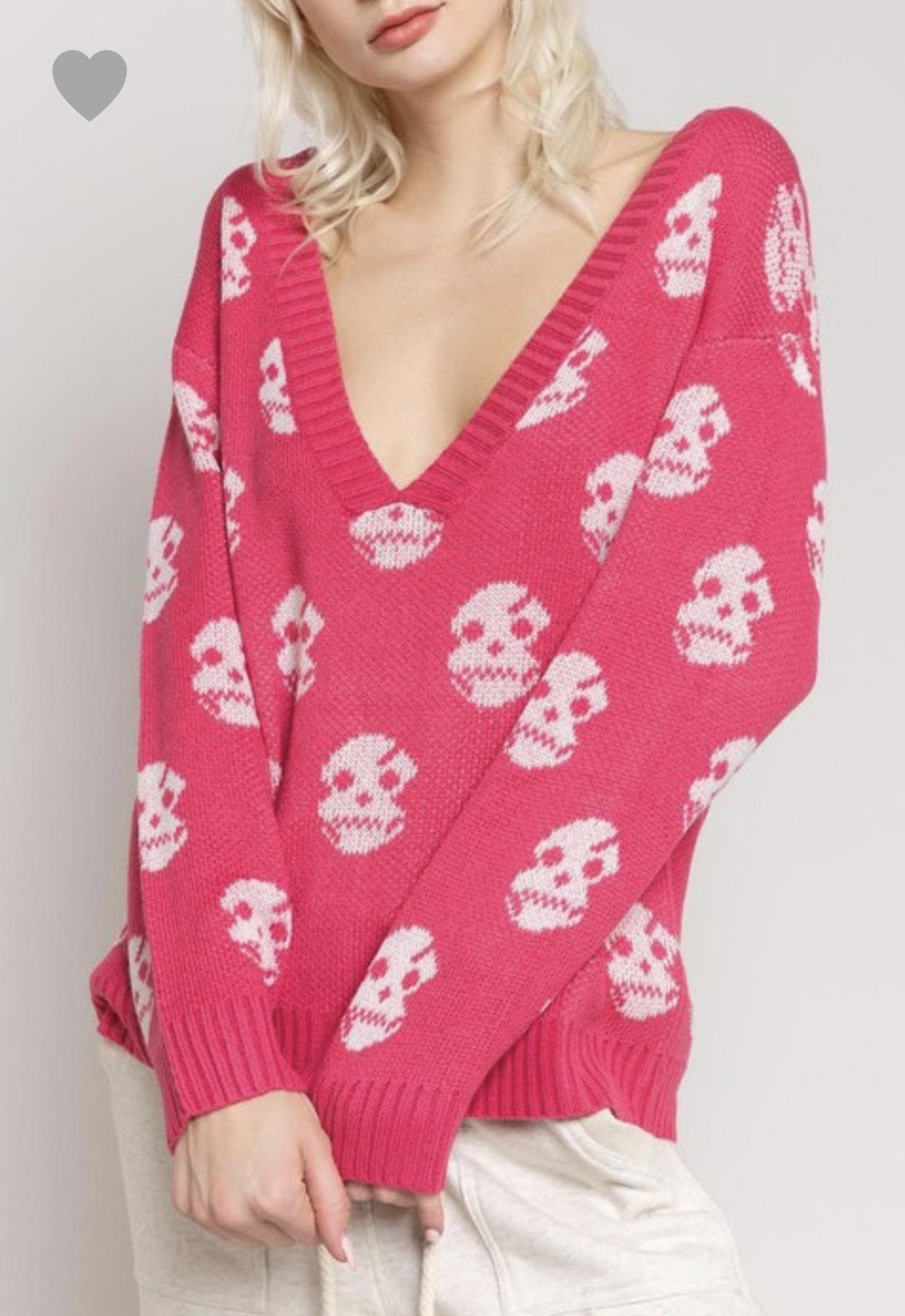 Tony Mary Skull L/S Sweater