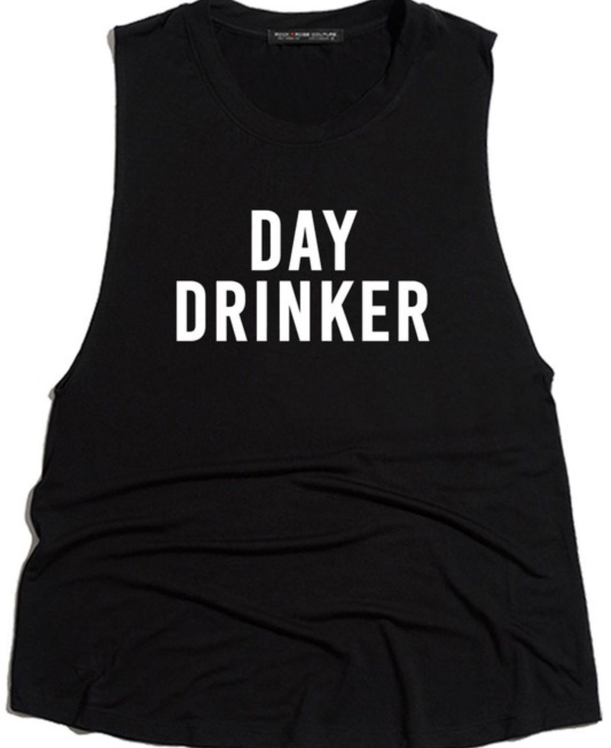 Rock Rose Day Drinker Muscle Tank