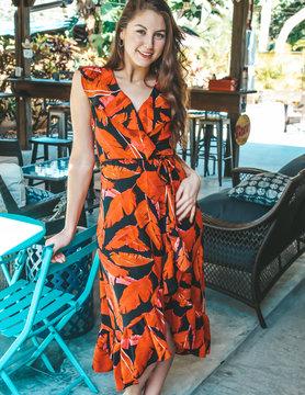 ina Red Hot Tropics Dress