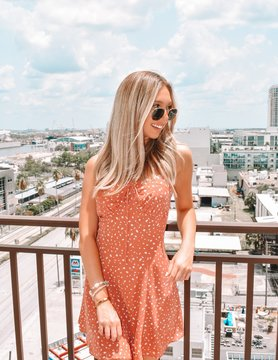Essue Charleston Spotted Dress