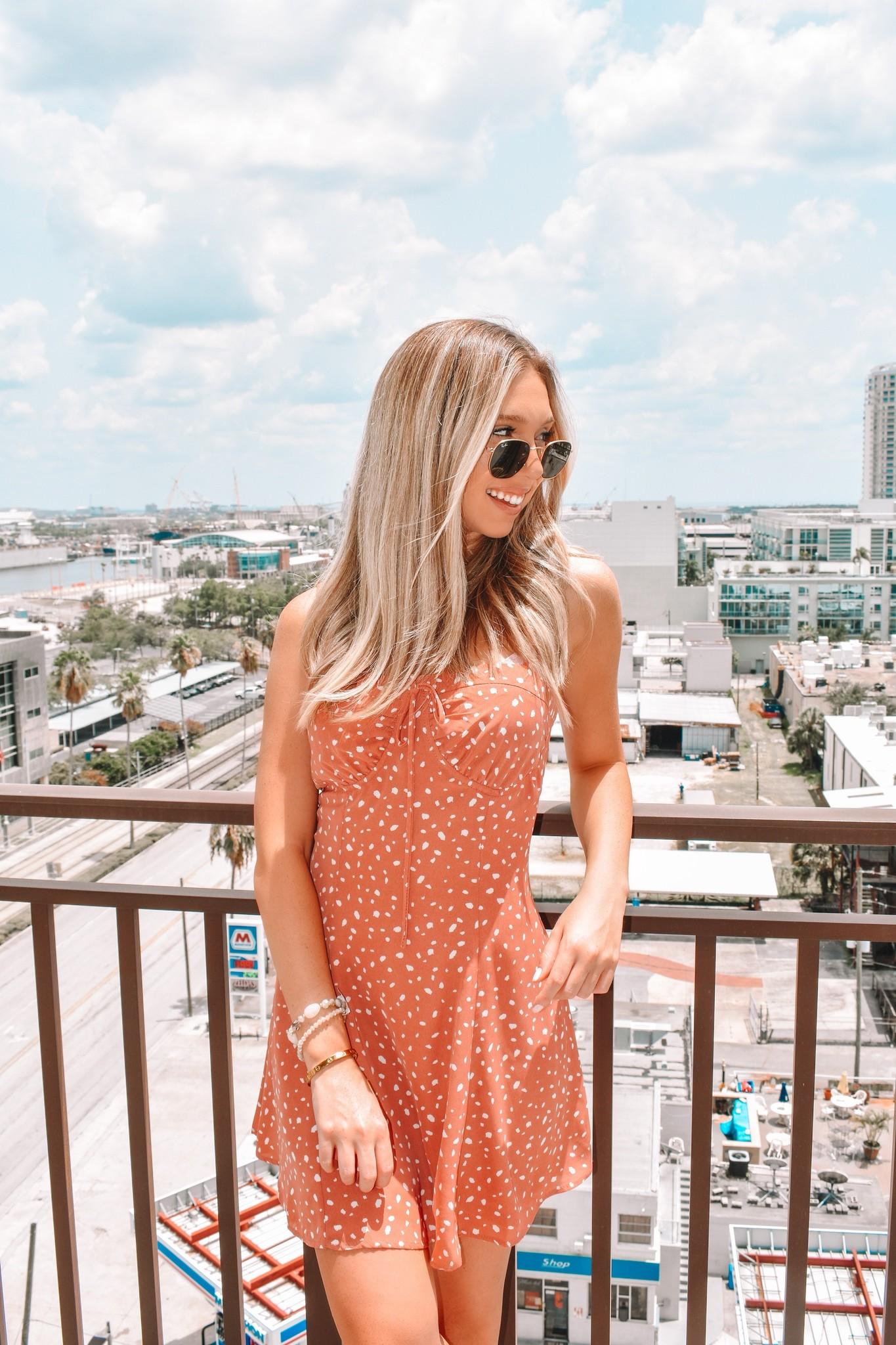 Essue Charleston Spotted Dress