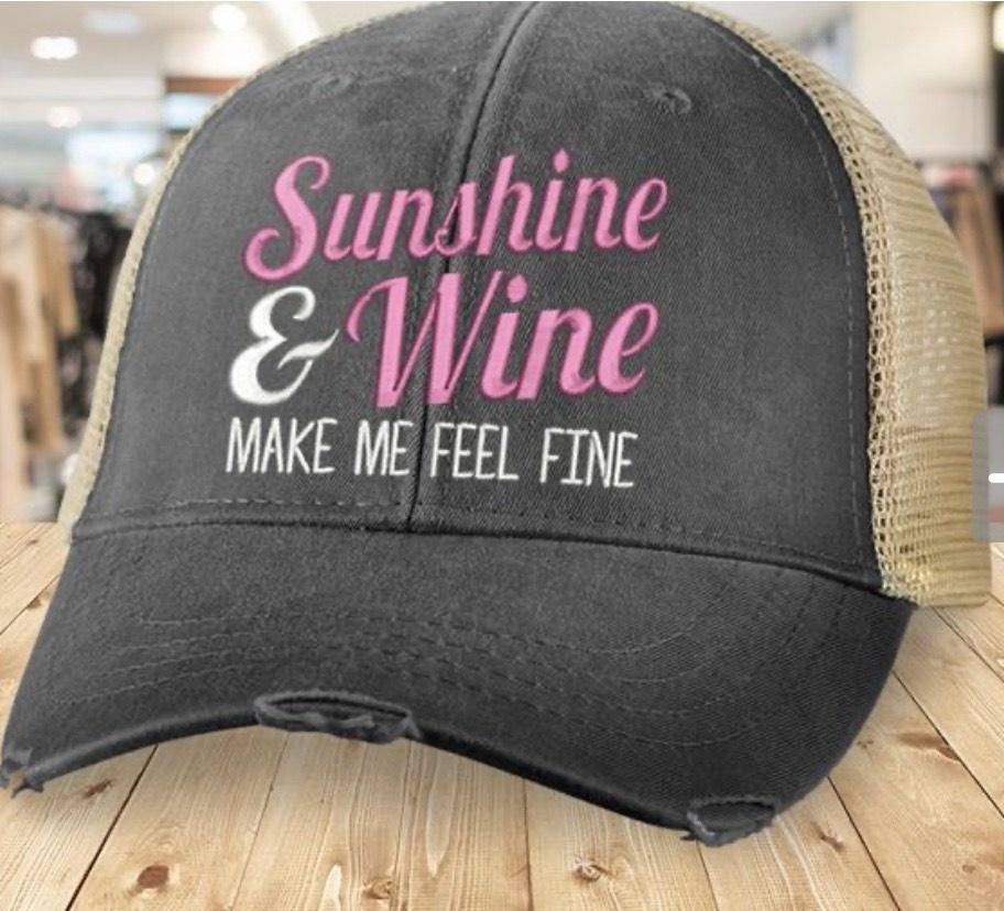 Piper Lou Sunshine & Wine Hat