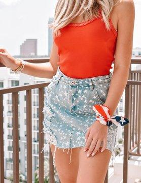 50 Star Skirt
