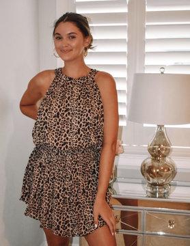 Gwyneth Leopard Dress