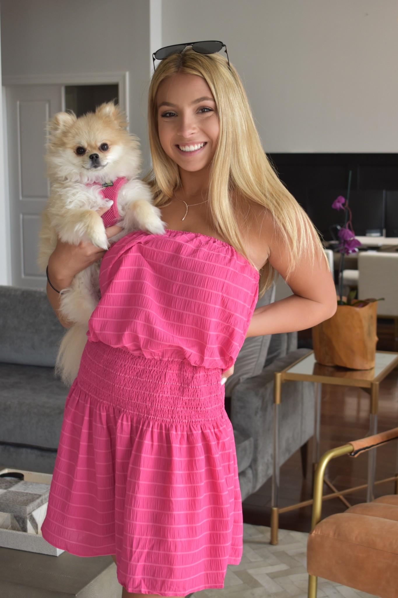 Hot Pink Tiffany Tube Dress