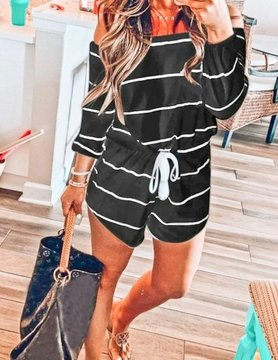 Charlotte Off Shoulder Romper