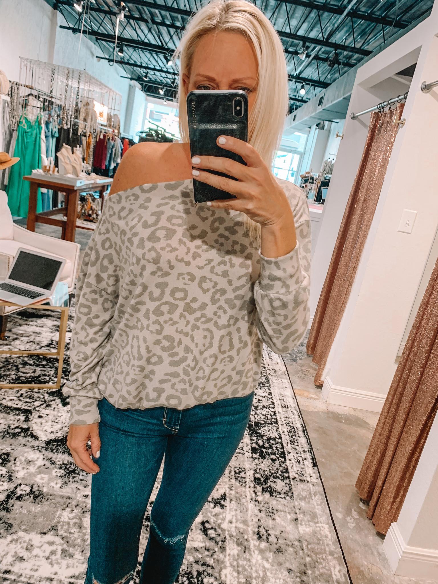 Lavon Cheetah Top