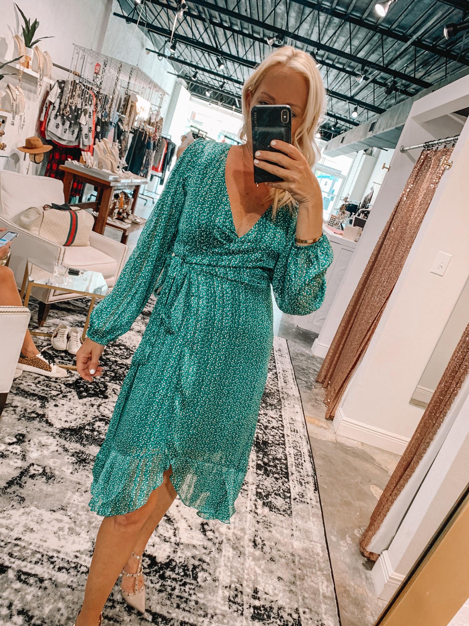 Nina Wrap Dress