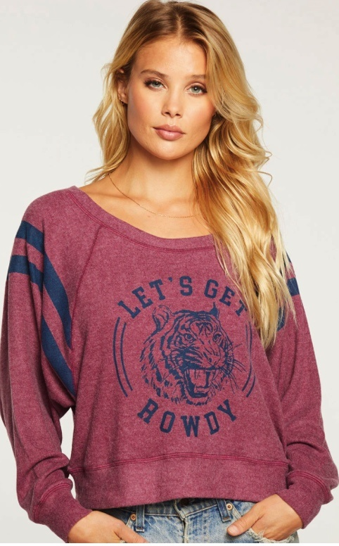 "Chaser Chaser ""Lets get Rowdy"" Sweatshirt"