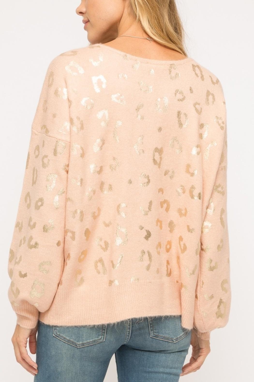 The Cate Leopard Sweater