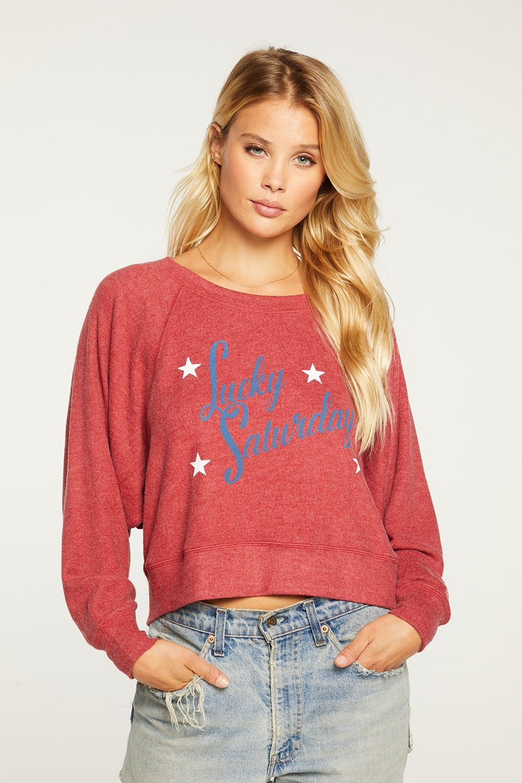 Chaser Lucky Saturday Sweatshirt