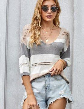 Jenna Striped Sweater