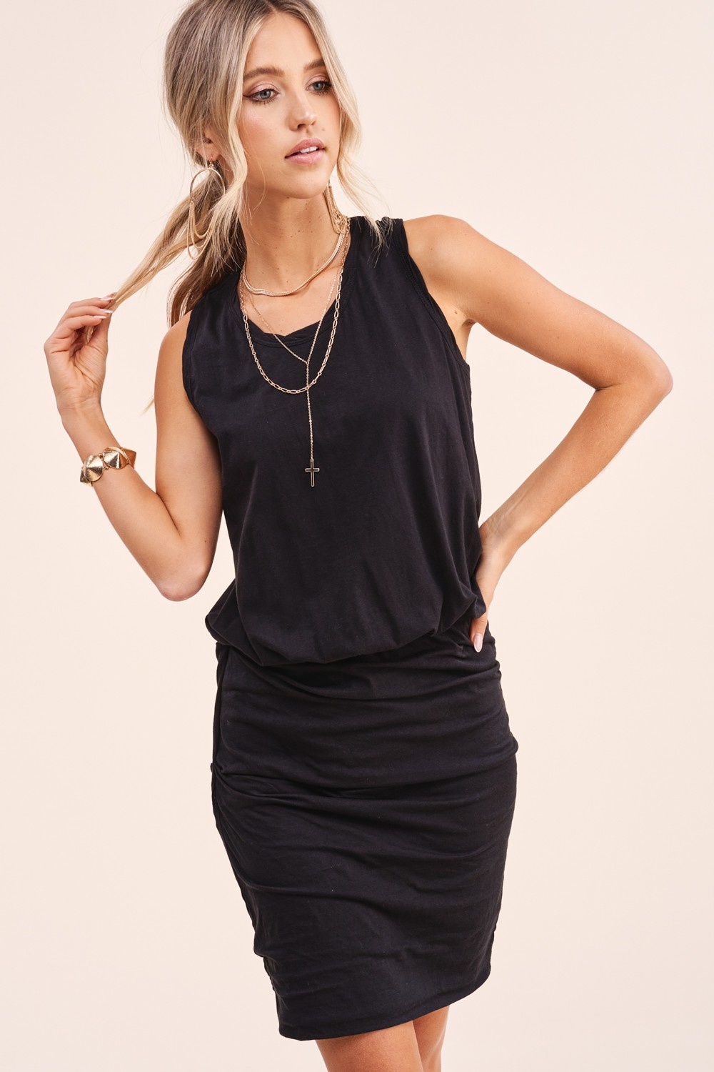 Kelsey Sleeveless Knit Dress