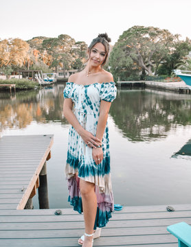 The Bella Tie Dyed Maxi