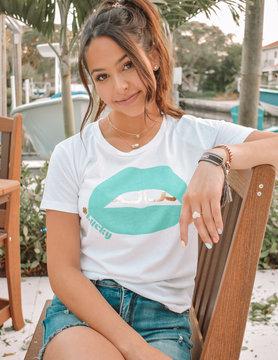 Chaser Chaser Lucky Kisses T-Shirt