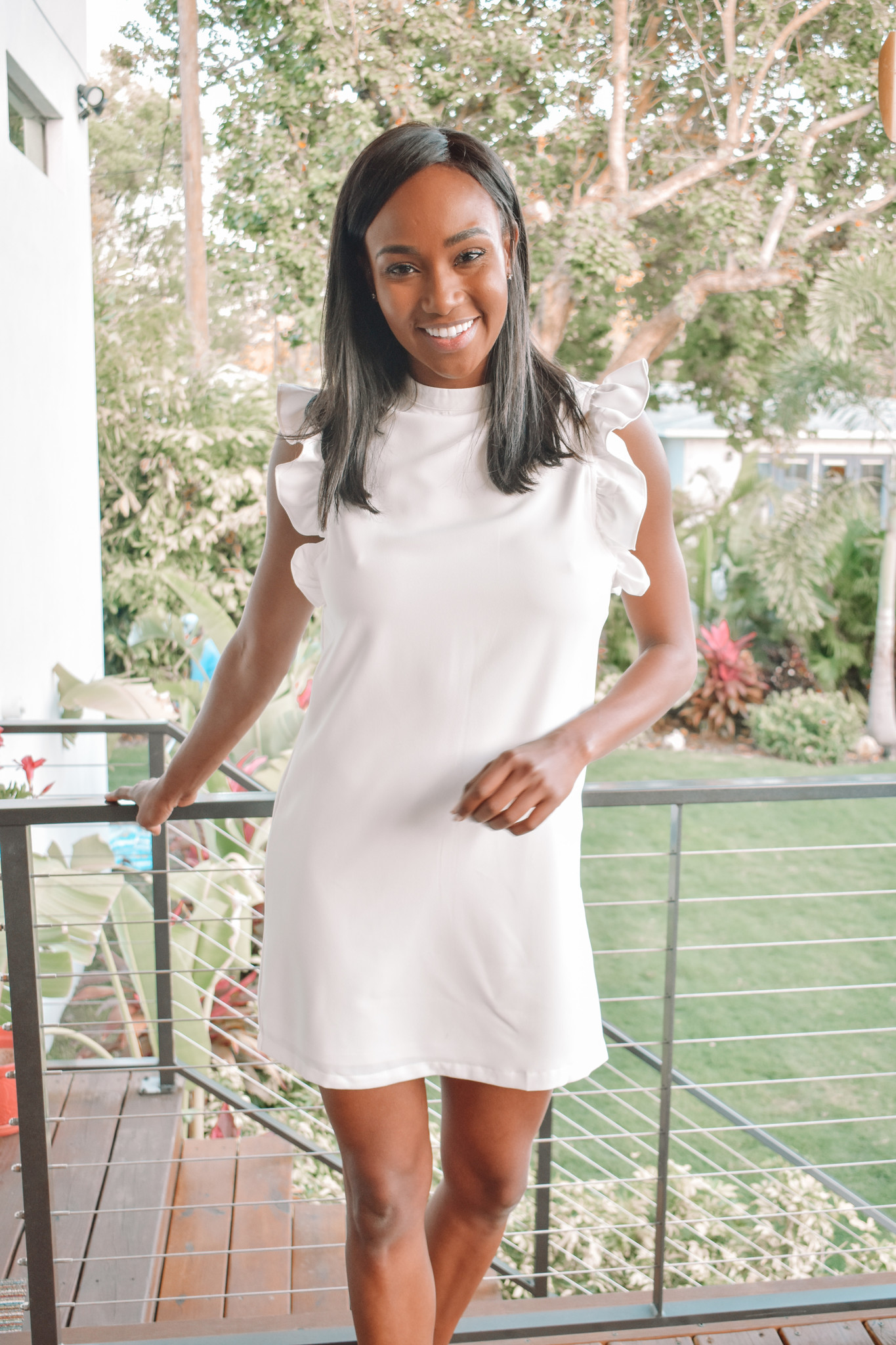 Lovestruck Ruffle Sleeve Dress