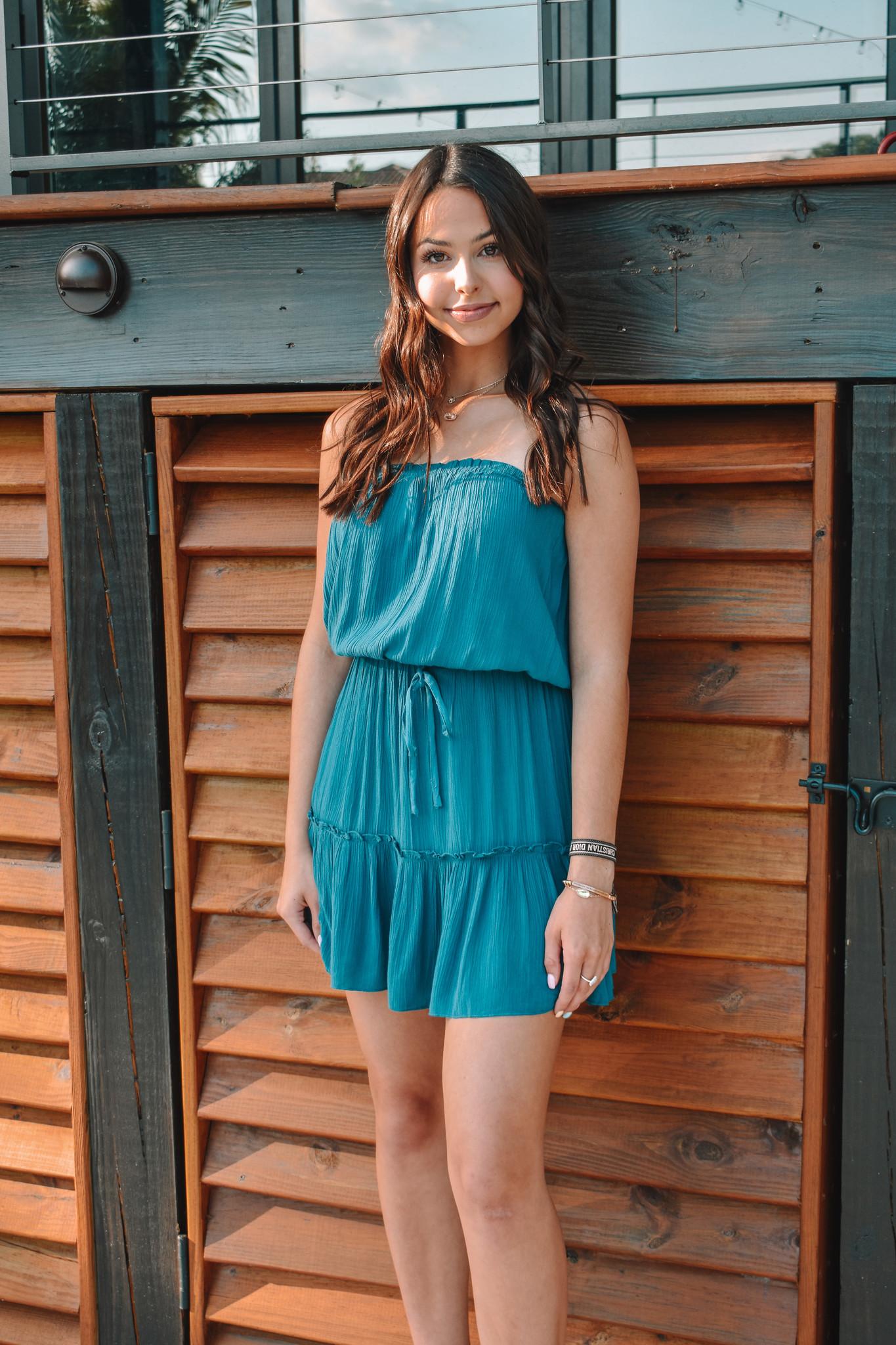 Sadie Strapless Dress