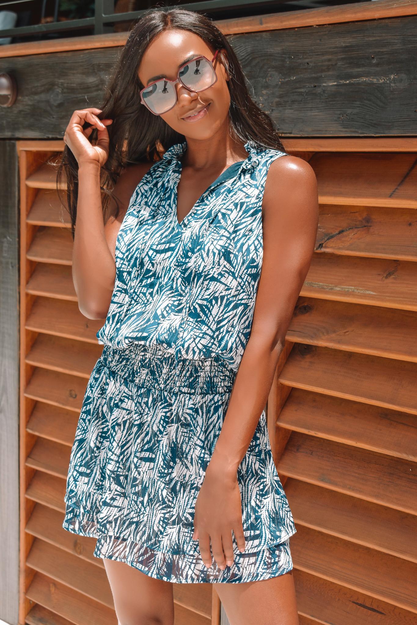 Veronica M VM Allison Drop Waist Dress