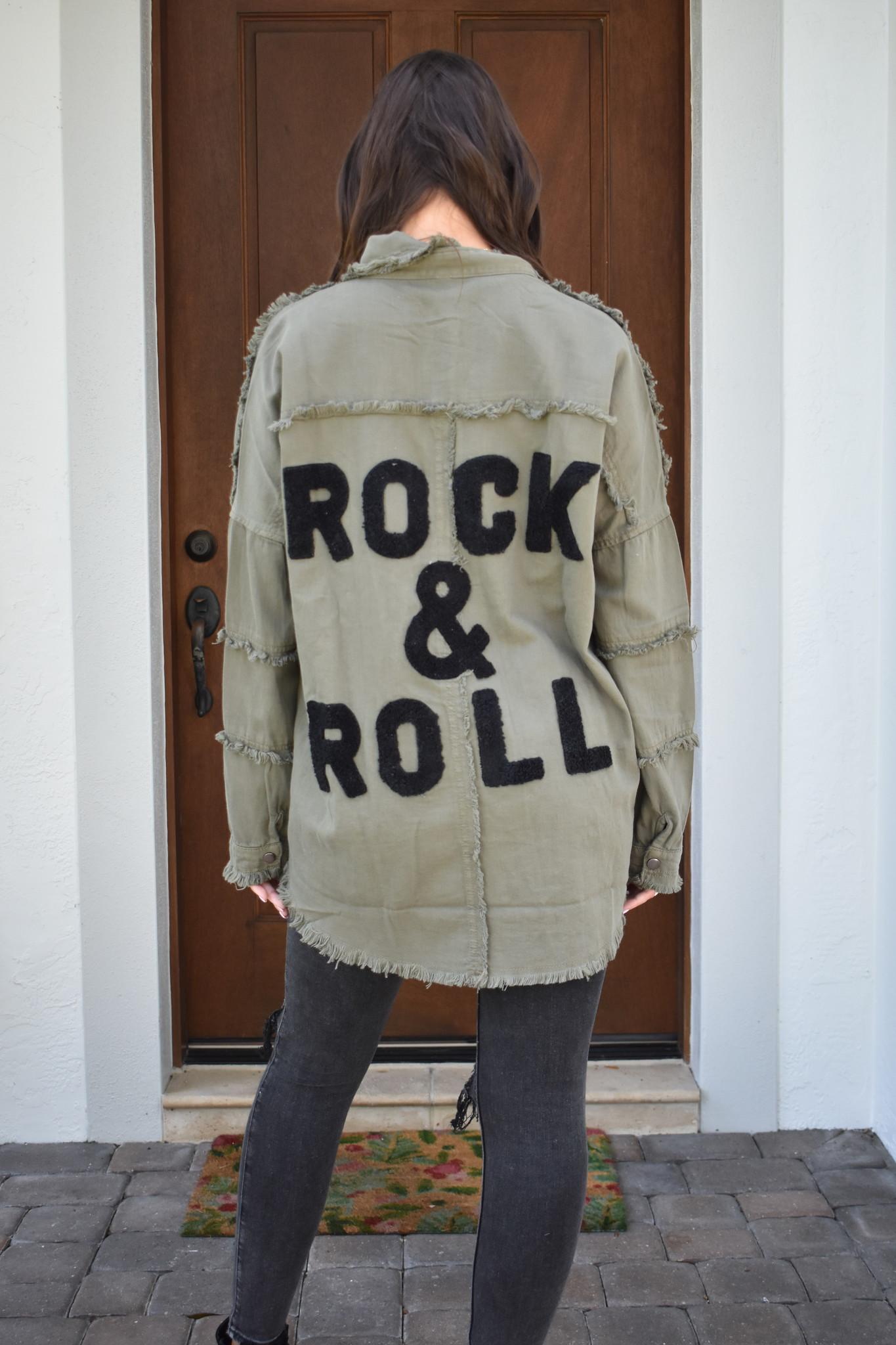 Elan Rock & Roll Army Jacket