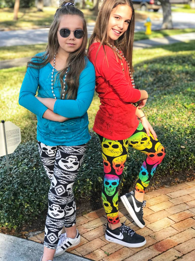 Skull Kids Leggings