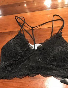 By Together Lace Choker Bralette
