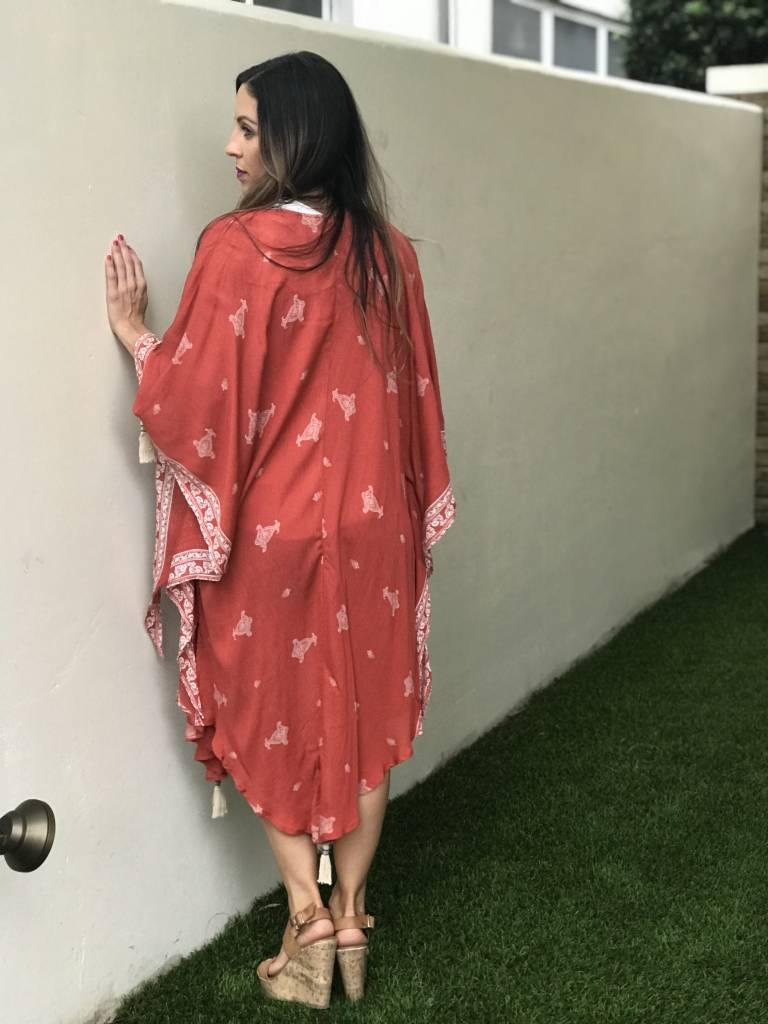 Papermoon Blake Paisley Kimono
