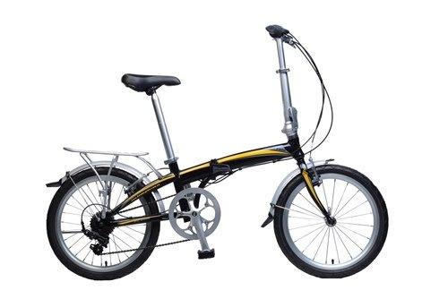 KHS Folding Bike F20A Black/Yellow