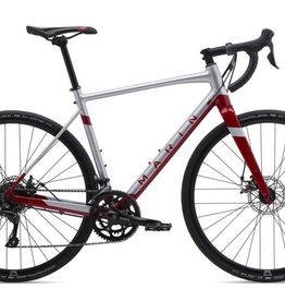 2020 Marin Gestalt 1 52cm Satin Silver/Gloss Crimson