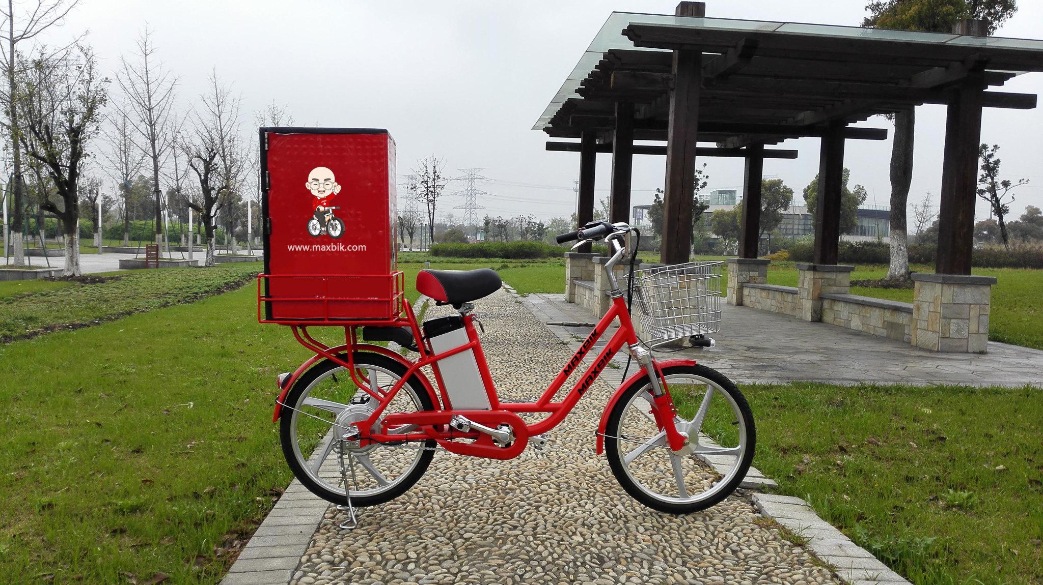 "Maxbik Maxbik MX-35 Electric Bike Delivery Ebike 22"""