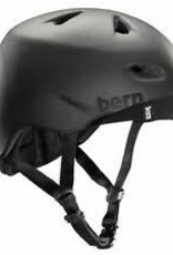 Bern Bern, Brentwd, Helmet, Matte Black, 3XL