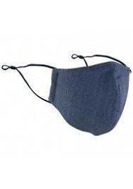 Fabric Mask (mom medical) Muck off black L