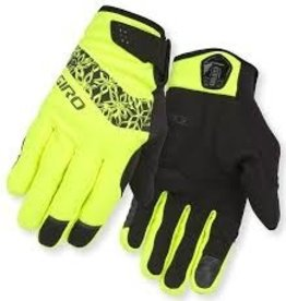 GIRO Giro Gloves Candela Womans Yellow L Winter