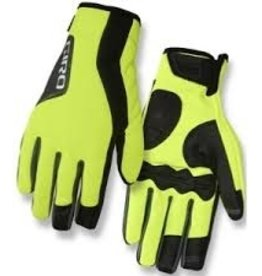 Giro Gloves Ambient M Yellow (winter)
