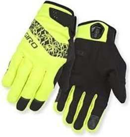Giro Gloves Candela M Yellow Womans (Winter)