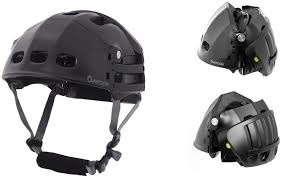 Brooks Foldable Helmet M Size Black/Black