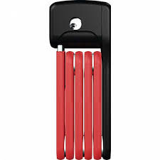 Abus Bordo Lite 6055 folding Lock red