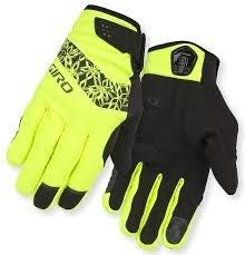 GIRO Giro Gloves Candela Womans Yellow L Winter