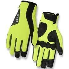 Giro Gloves Ambient M Yellow (winter)