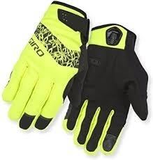 Giro Gloves Candela M Yellow Womans (Winter)