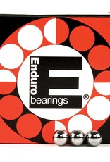 "Enduro Enduro, Grade 25 loose ball bearings, Box Of 100, 1/4"""