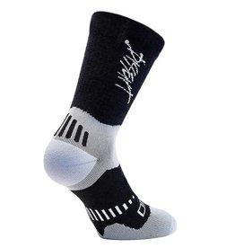 Dissent Dissent, Supercrew Ultra Mtn Merino 6'', Socks, Black, L, Pair