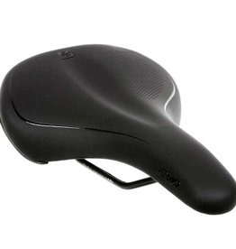 EVO Evo, Recreational, Saddle, 282 x 172mm, Men, Black