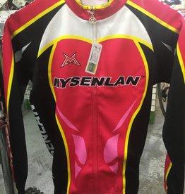 Mysenlan Pink/White/Black/Yellow Jacket
