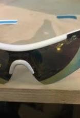 Farova Farova Sunglasses Shiny White  + 5 lenses (different colors) + Prescription slot