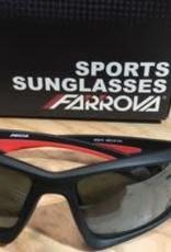 Farova Farova Matte Black Sunglasses